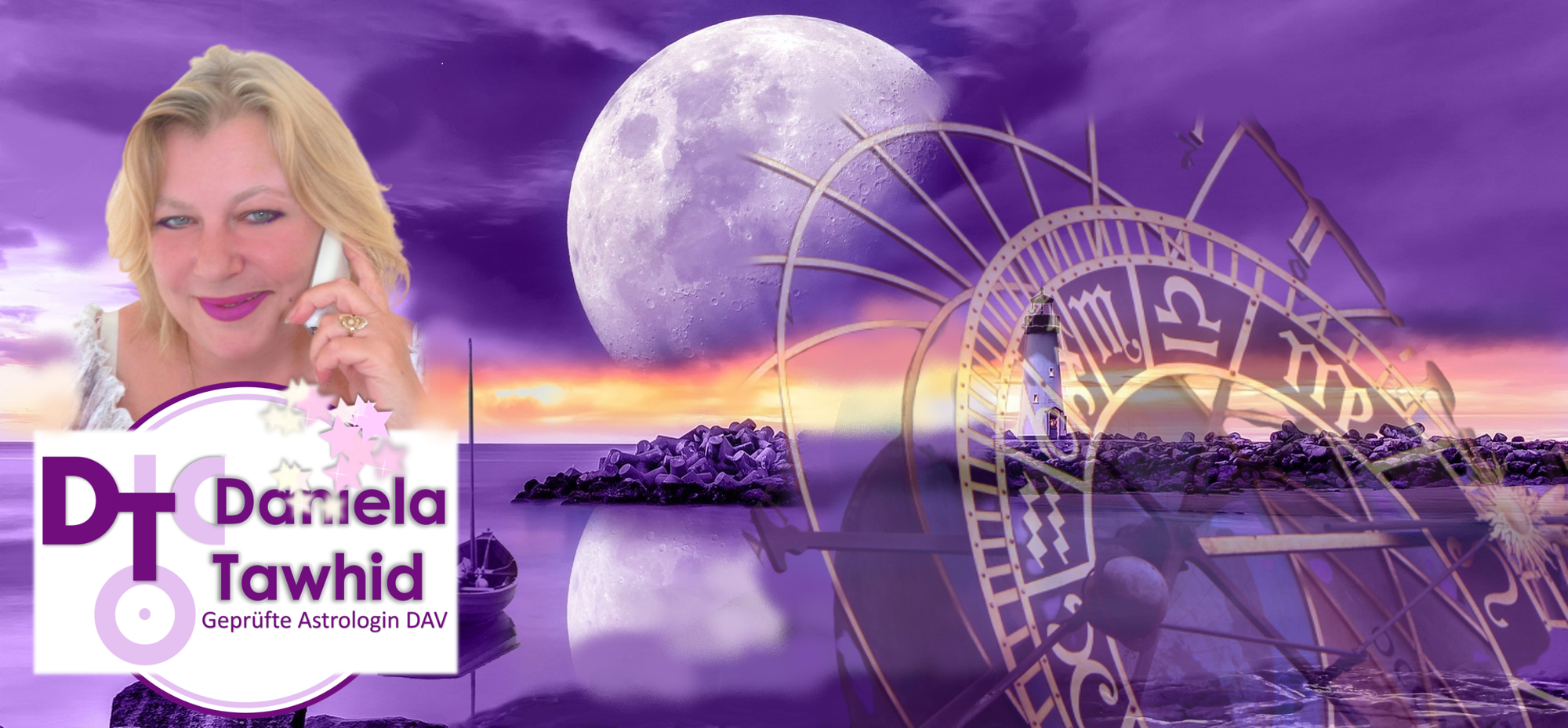 Astrologie-Heilbronn, Daniela Tawhid, geprüfte Astrologin DAV – Tel: 07066-912018